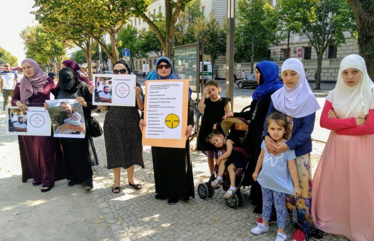 В Берлине протестуют против убийства Зелимхана Хангошвили