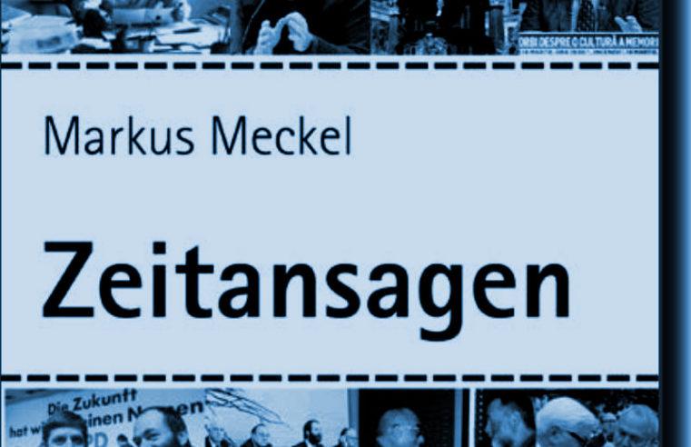 Neues Buch von dem DDR-Bürgerrechtler Markus Meckel ist da