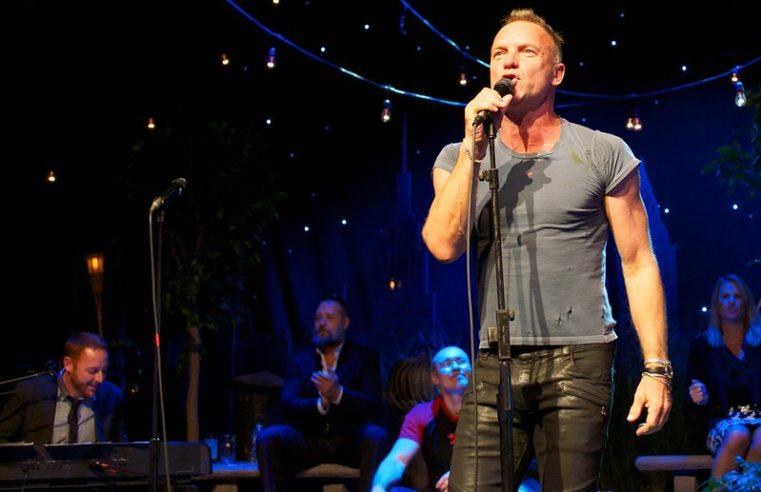 Стинг получает международную музыкальную премию IMA в номинации «Герой»
