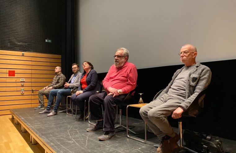 Unsere Vortragsreihe begann am Tag des russischen politischen Gefangenen in Stuttgart (Online-Übertragung)