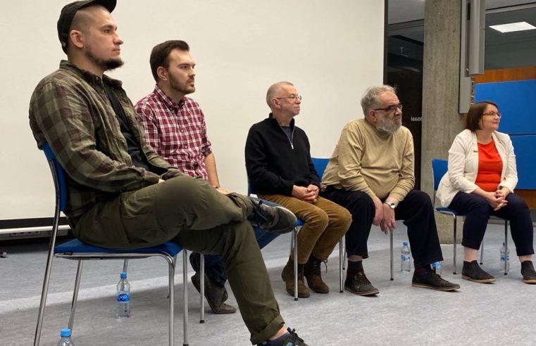 В Штутгарте прошла лекция для студентов о правах человека в России (Обновление в режиме он-лайн трансляции)