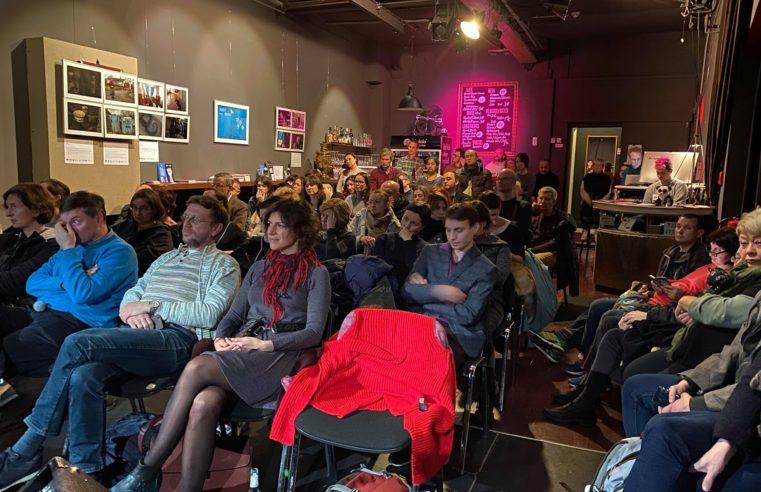 Im Berliner Panda-Theater sprach man über die Menschenrechte in Russland