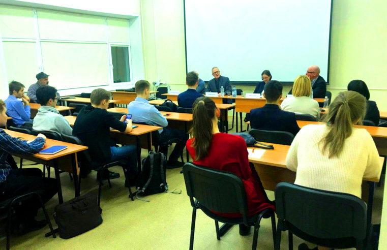 Ein weiteres Treffen deutscher ExpertInnen und der an der Menschenrechtssituation in Deutschland interessierten russischen Öffentlichkeit fand in Moskau statt
