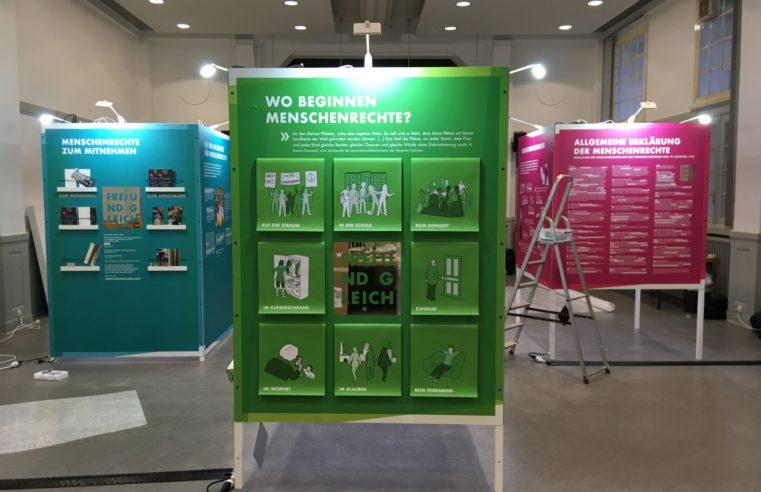 Evangelische Kirche in Deutschland will mit interaktiver Ausstellung Menschenrechte vermitteln