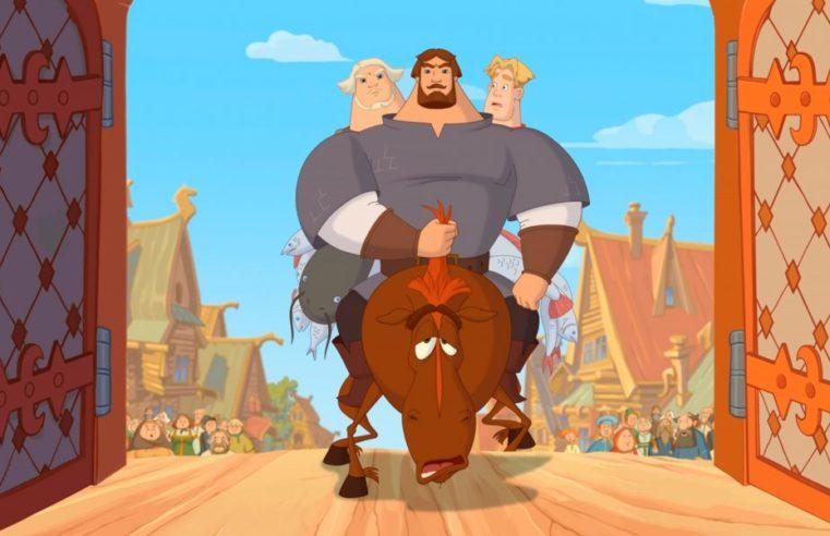 Герои мультфильма про «Трёх богатырей» будут агитировать за поправки к Конституции