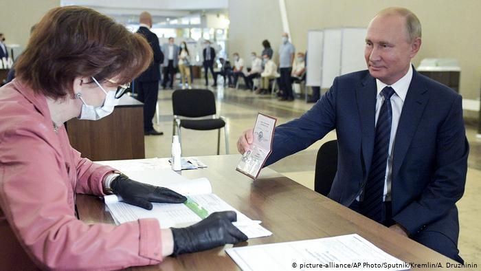 Комментарий: Путин навсегда